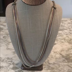 Sabika Beautifully Simple Long 5-Row Necklace